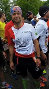 Carsten Heinz  Kopf von Hausberg Meber of Hohenzollern-Trailrunning